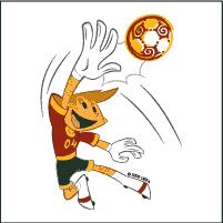 UEFA Euro 2004 Portugal (Kinas - official mascot)